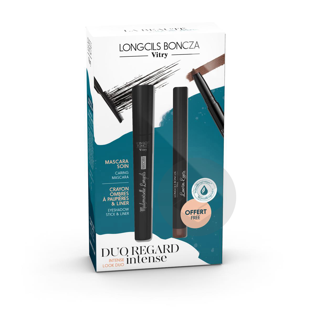 Coffret Mascara Melle Lov In Eyes Offert