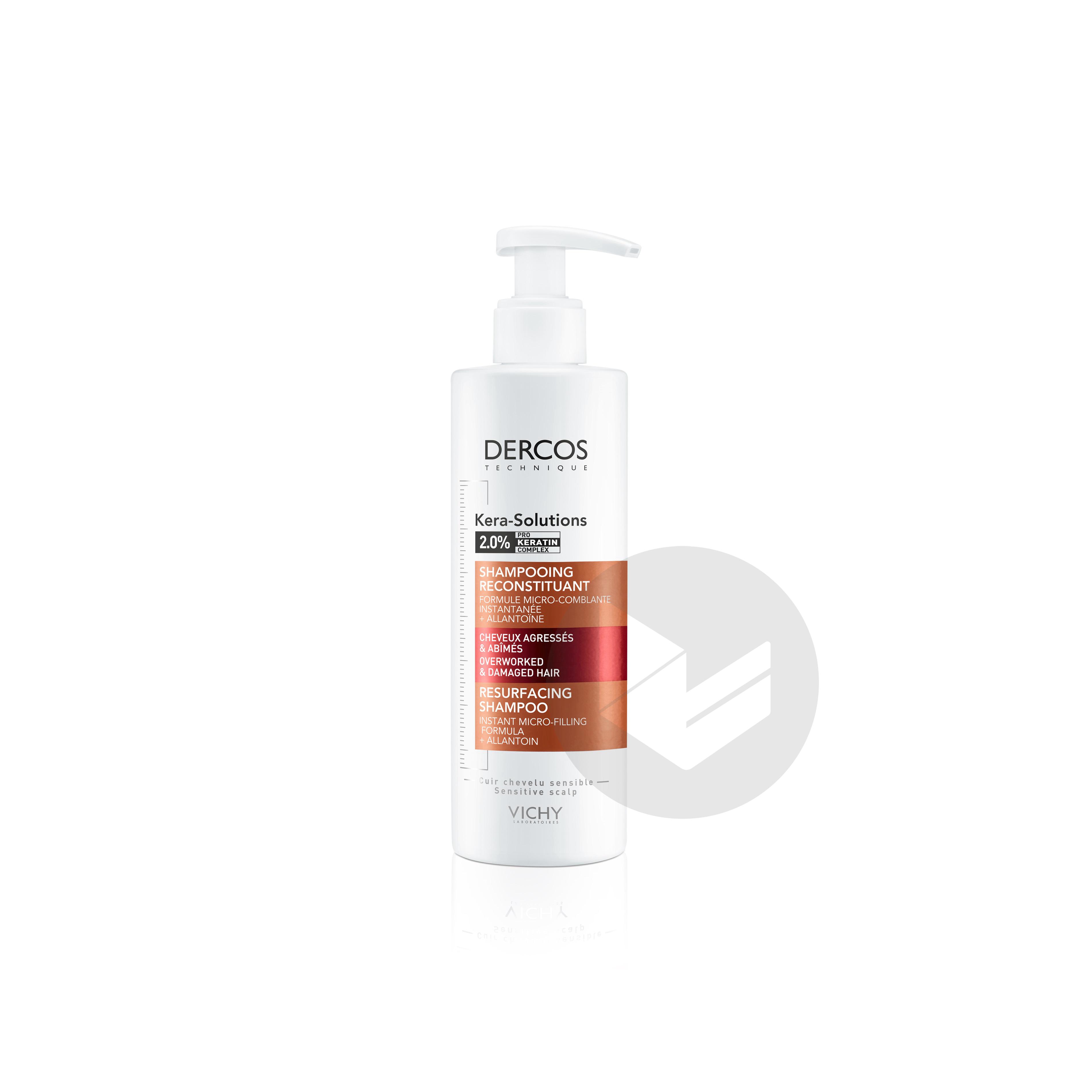 Dercos Technique Kera-Solutions Shampooing Reconstituant 250ml
