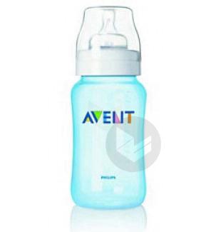 AVENT Biberon polypropylène bleu 330ml