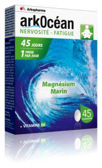 ARKOCEAN DETENTE ET EQUILIBRE Magnésium Marin Vitamine B6 Cpr B/45