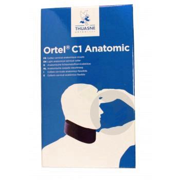 Ortel C 1 Anatomic Collier Cervical Avec Housse Marine 7 5 Cm T 1