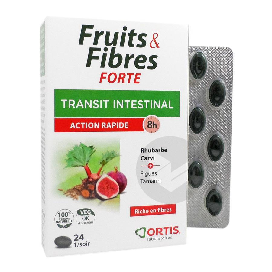 FRUITS&FIBRES FORTE 24 comprimés