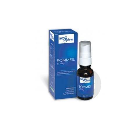 NAT&FORM EXPERT Spray sommeil Fl/20ml