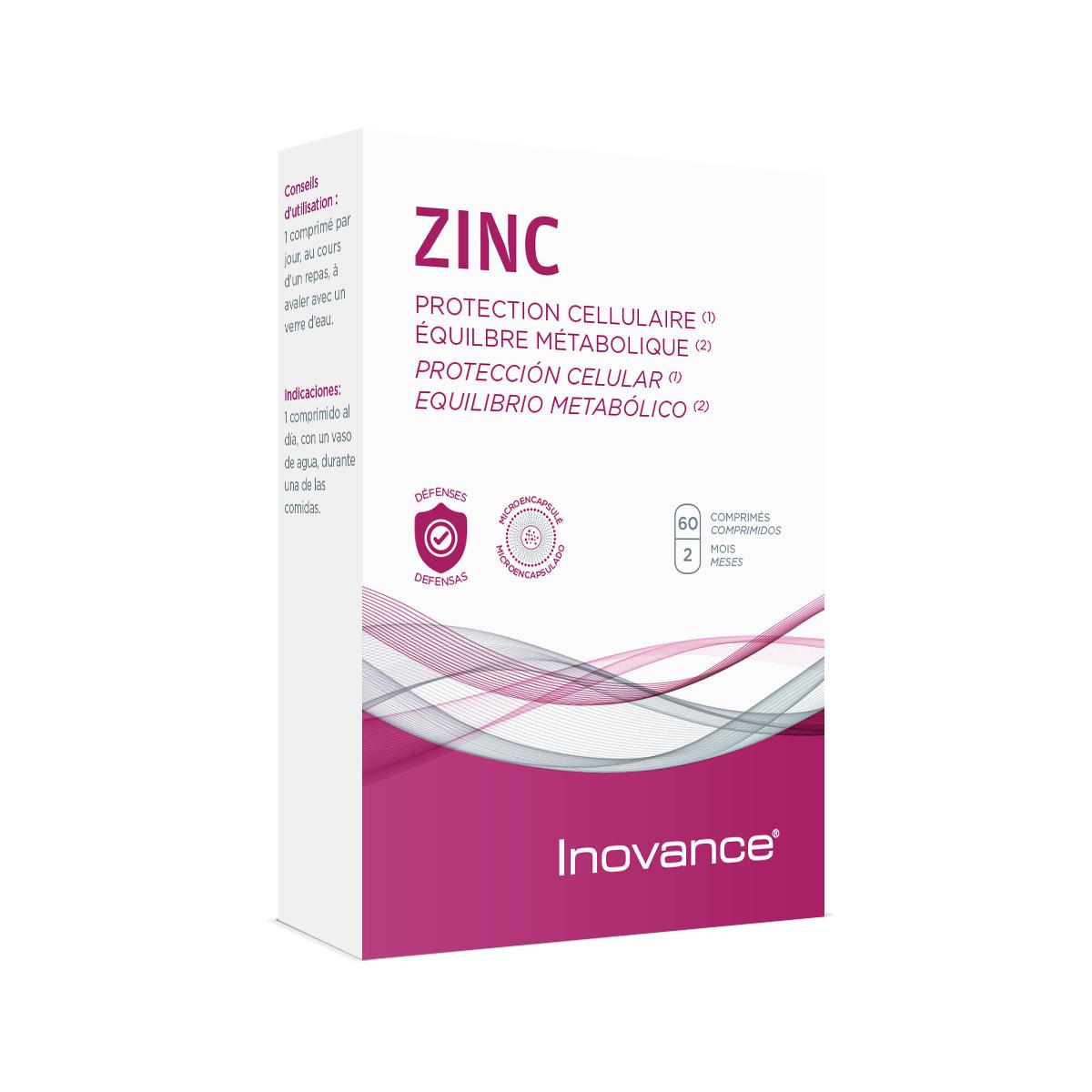 ZINC 60 comprimés