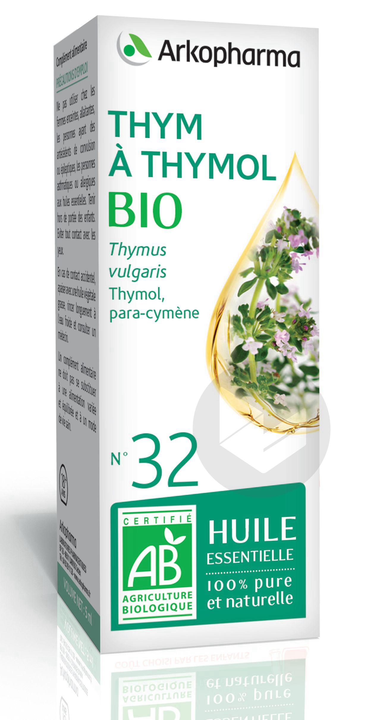 N 32 He Thym A Thymol Bio 5 Ml