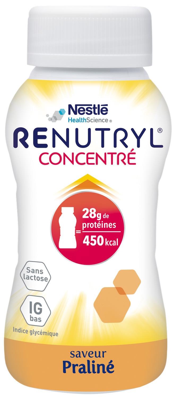 Renutryl Concentre Saveur Praline 4 X 200 Ml
