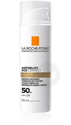 Age Correct Soin Solaire Quotidien Photocorrection Spf 50 50 Ml