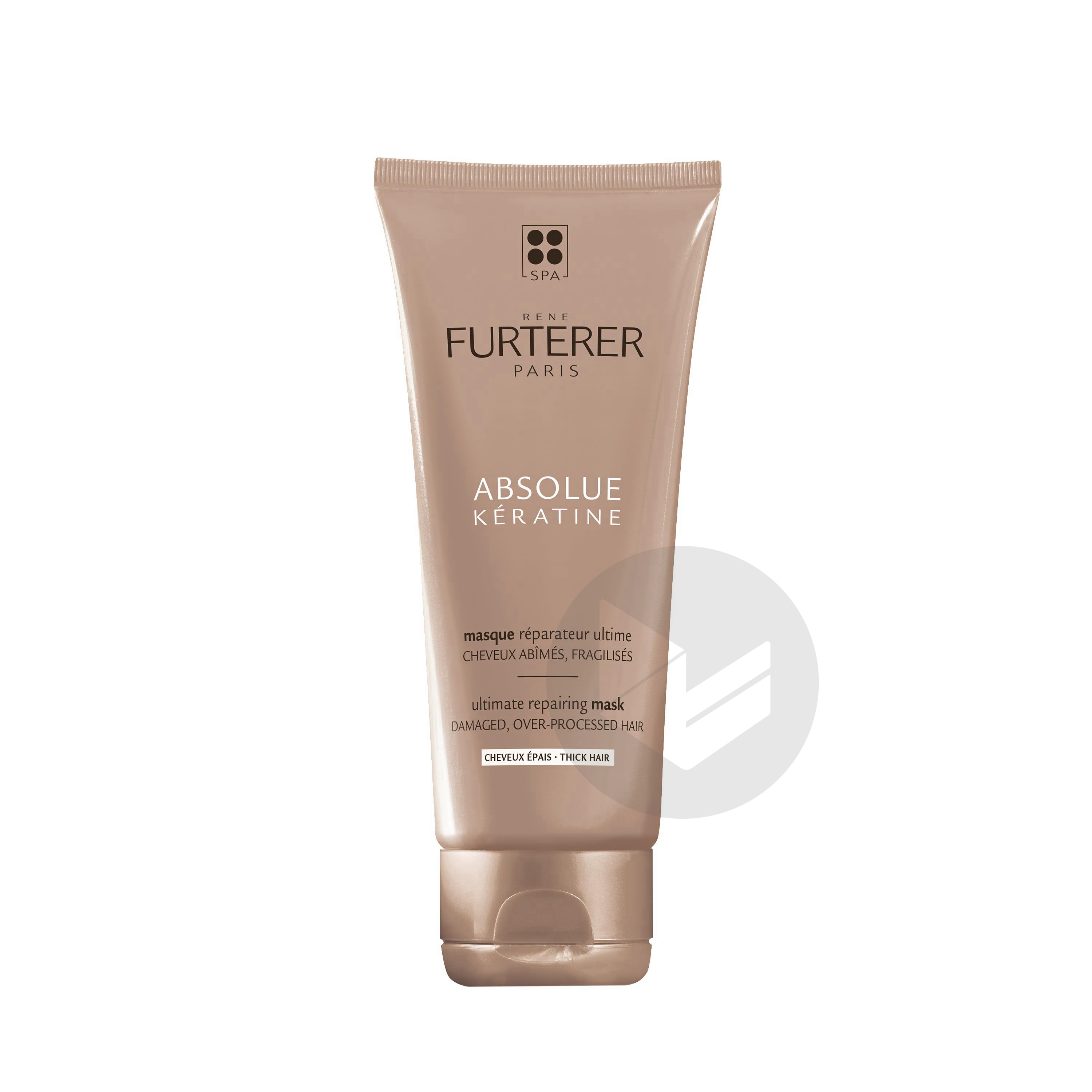 Rene Furterer Absolue Keratine Masque Reparateur Ultime Cheveux Epais 100 Ml