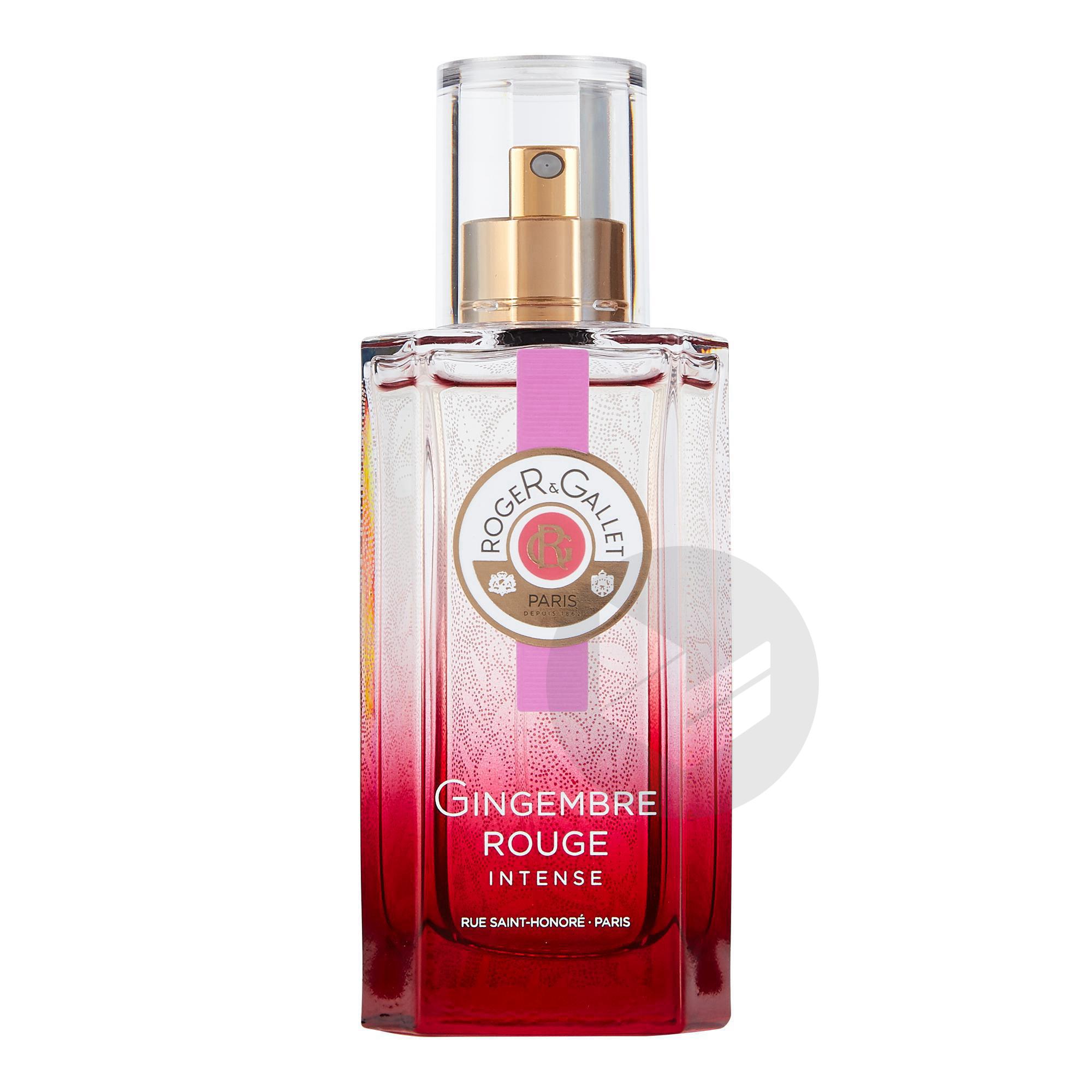 Gingembre Rouge Intense Eau de Parfum Bienfaisante Vaporisateur 50ml