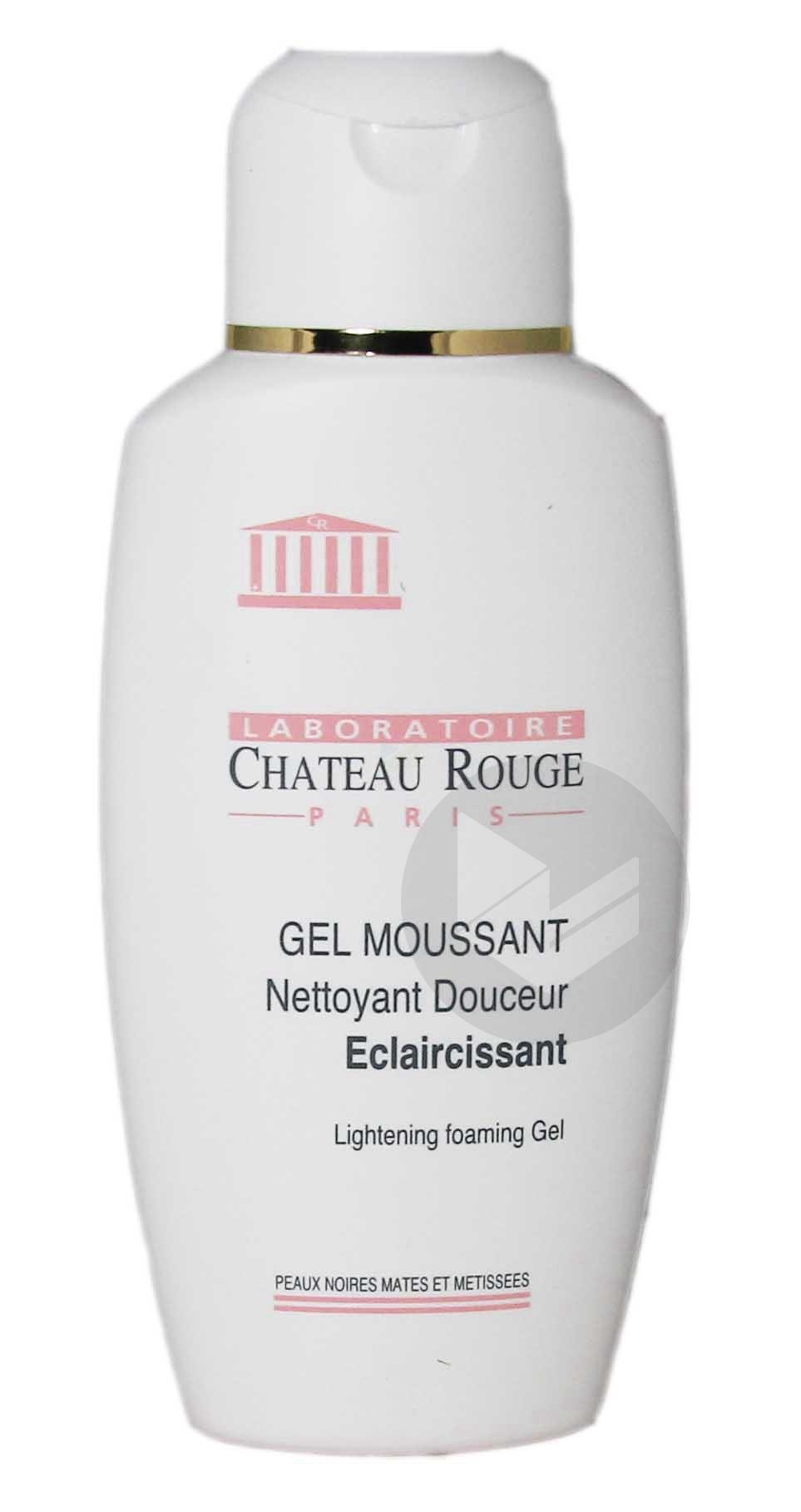 CHATEAU ROUGE Gel moussant nettoyant éclaircissant Fl/200ml