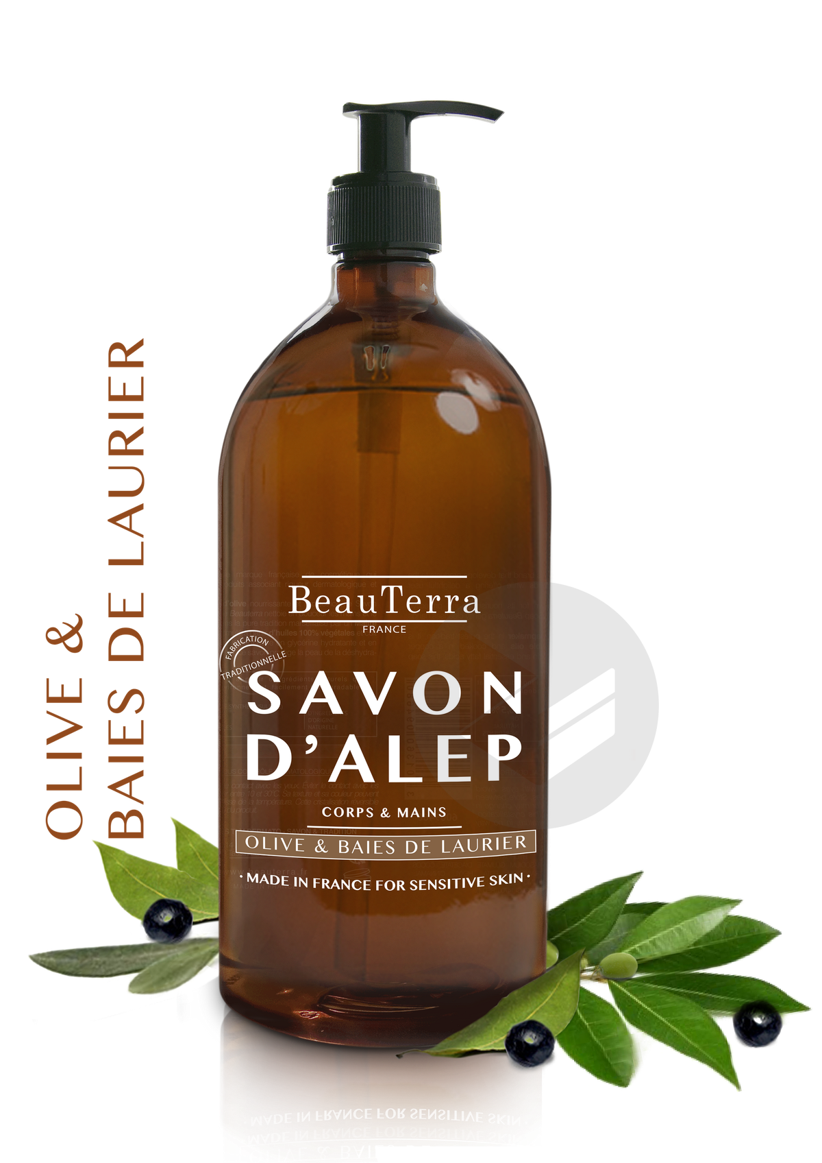 Savon D Alep Liquide 1 L