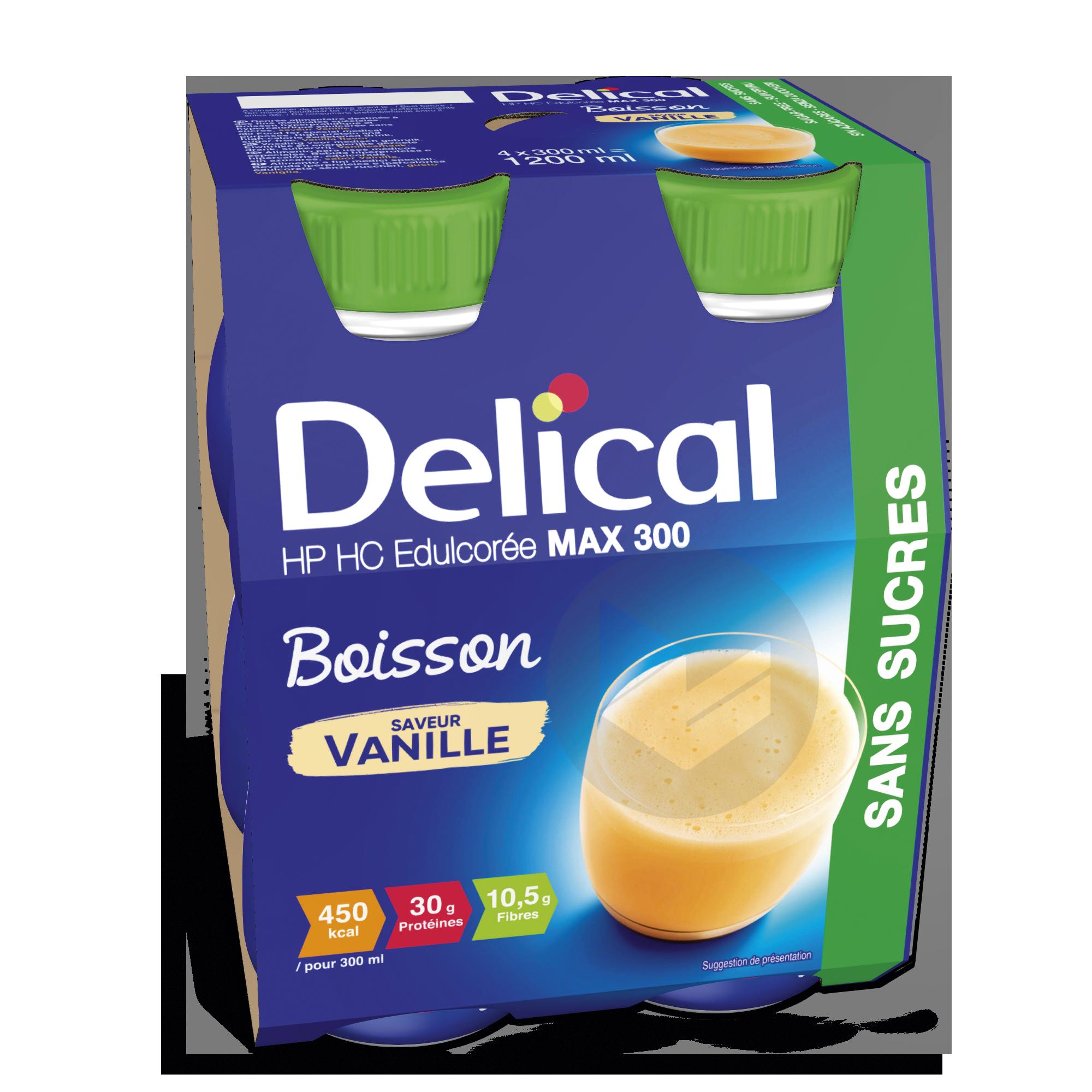 Delical Boisson Hp Hc Max 300 Sans Sucres Vanille