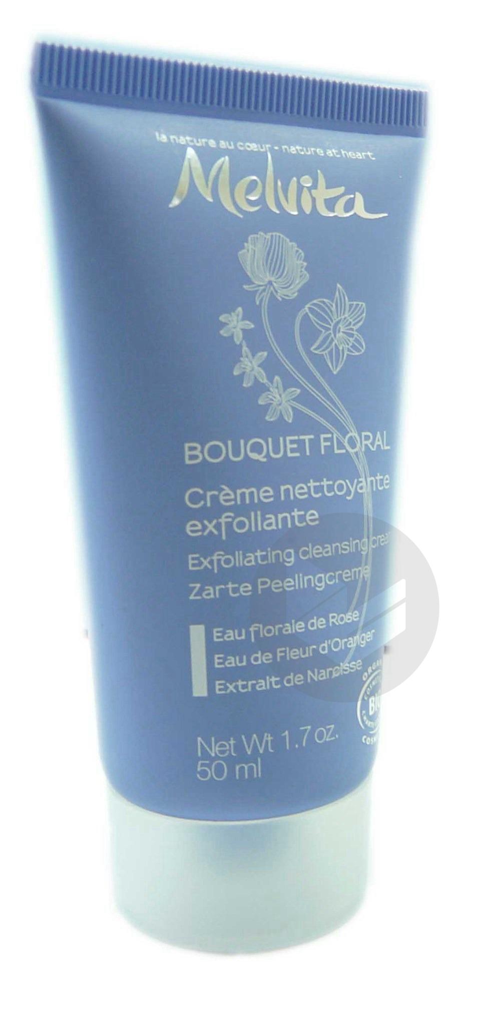 Bouquet Floral Cr Nettoyante Exfoliante T 50 Ml