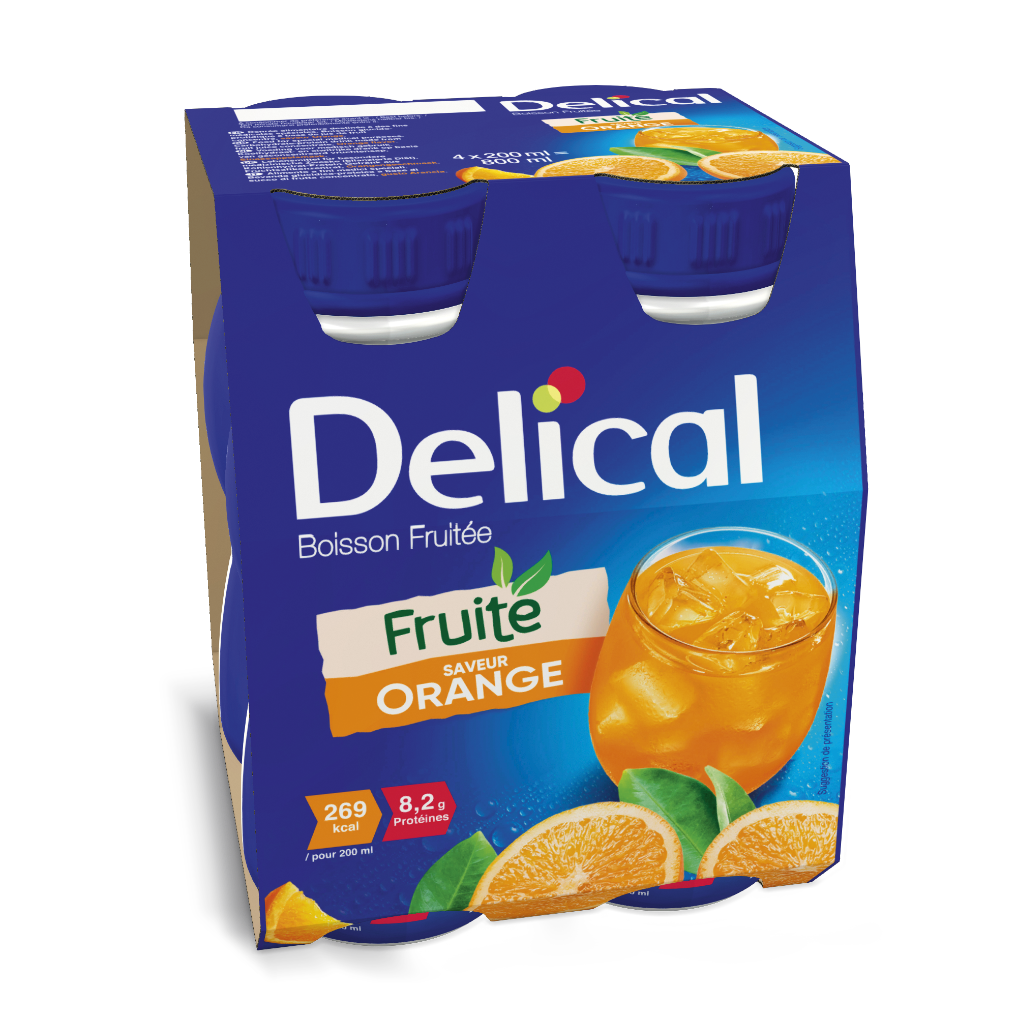 Delical Boisson Fruitee Orange