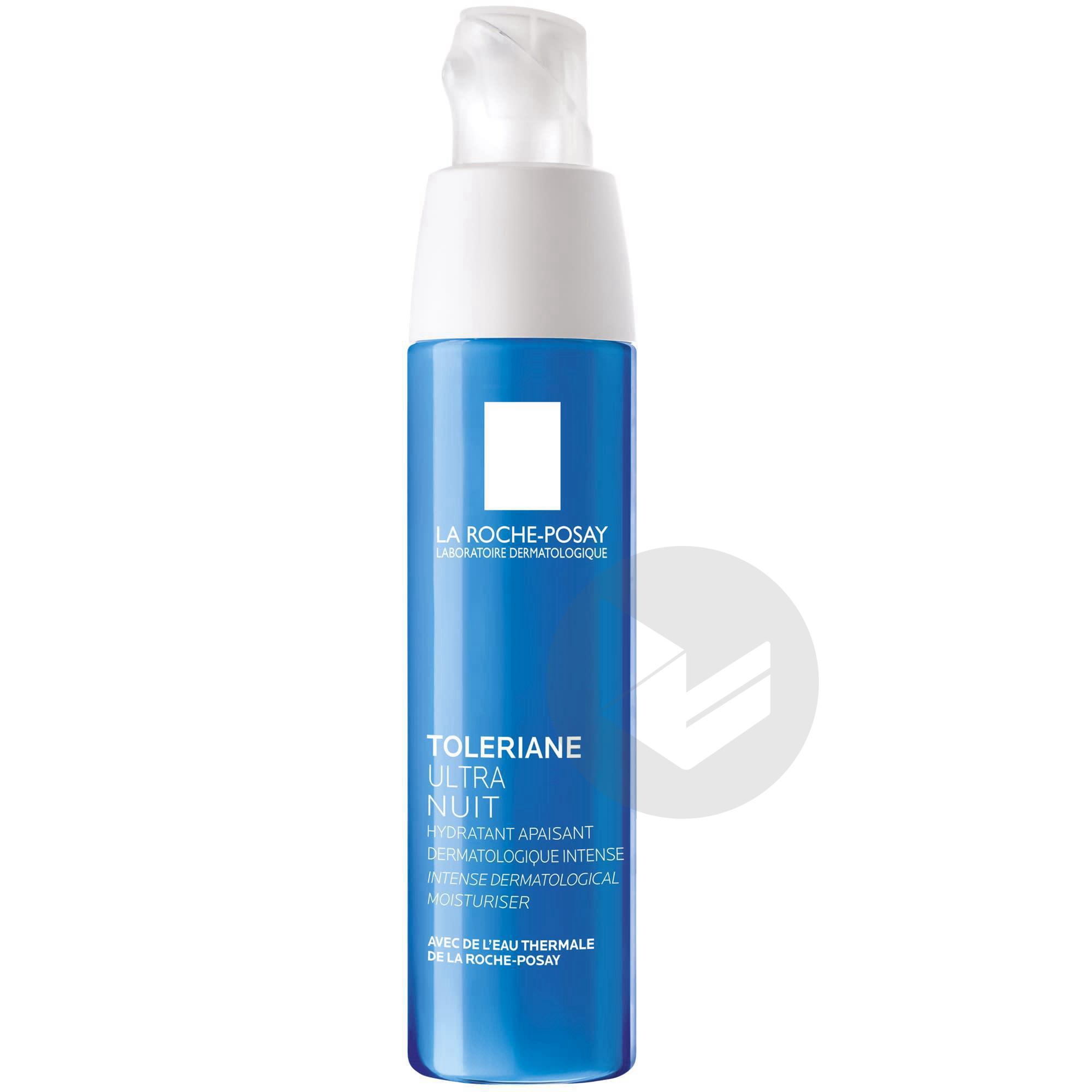Toleriane Ultra Soin de nuit hydratant apaisant intense 40ml
