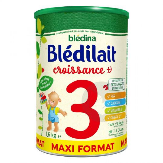 Bledilait Croissance Lait En Poudre 1 6 Kg
