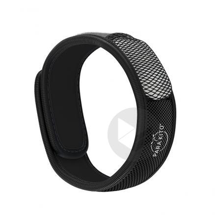 Parakito Bracelet Anti Moustiques Noir