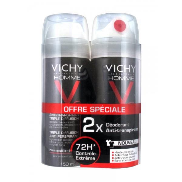 LOT*2 Vichy Homme Anti-transpirant triple diffusion