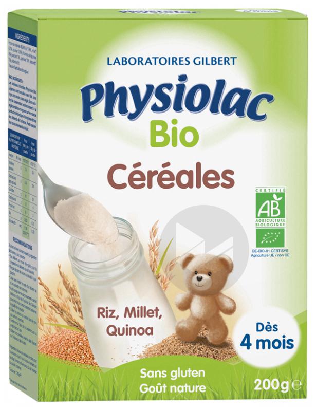 Physiolac Cereales Bio Farine B 200 G