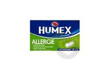 10 Mg Comprime Pellicule Secable Allergie Cetirizine Plaquette De 7