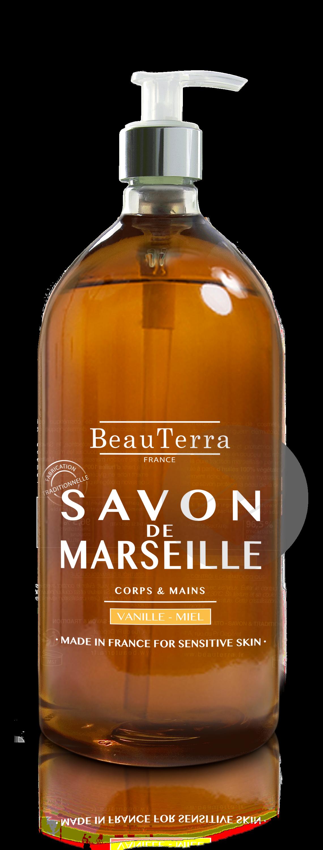 Savon de Marseille liquide- Miel vanille - 300ml