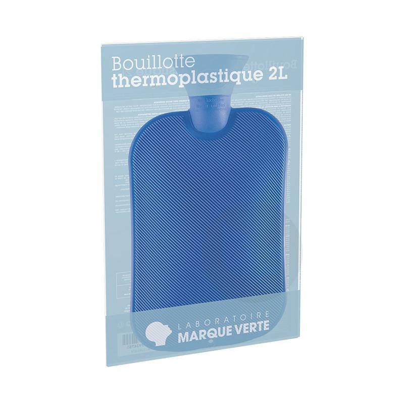 Bouillotte Thermoplastique Bleue 2 L