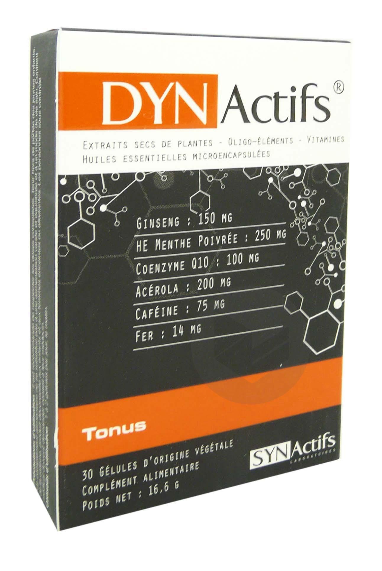 SYNACTIFS DYNACTIFS 30 gélules