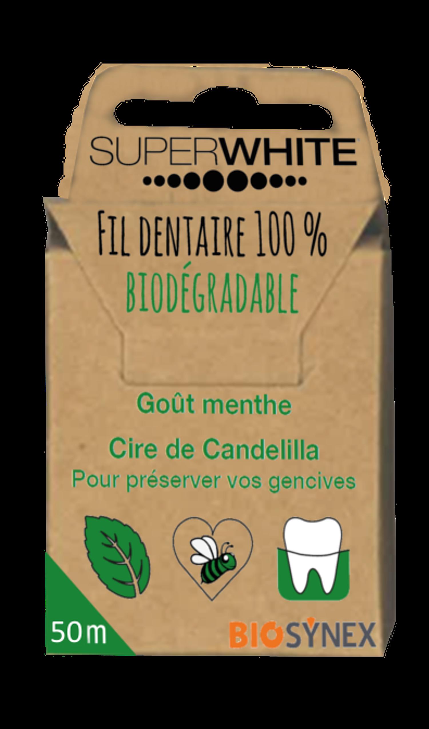 Fil Dentaire Biodégradable 50m
