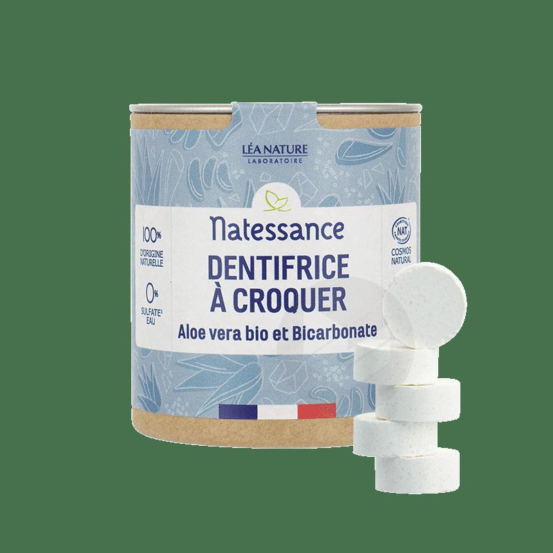 Dentrifice A Croquer Aloe Vera Et Bicarbonate 52g