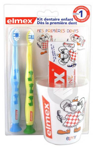 Elmex Kit Dentaire Enfant