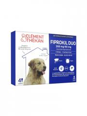 FIPROKIL DUO Solution pour spot-on chien 20-40kg 4Pipette/2.68ml