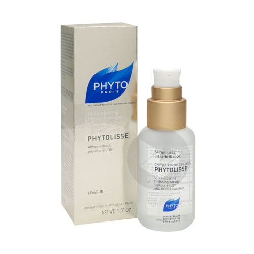 Phytolisse Serum Lissant Ultra Brillance Cheveux Indisciplines