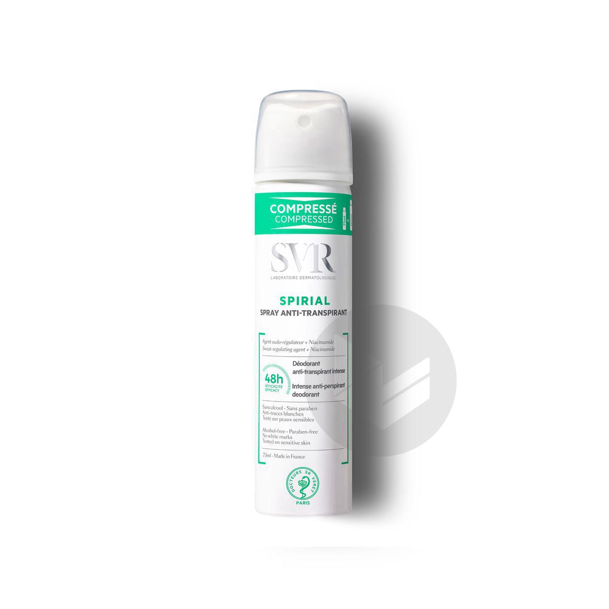 SPIRIAL Spray Anti-Transpirant 75 ml