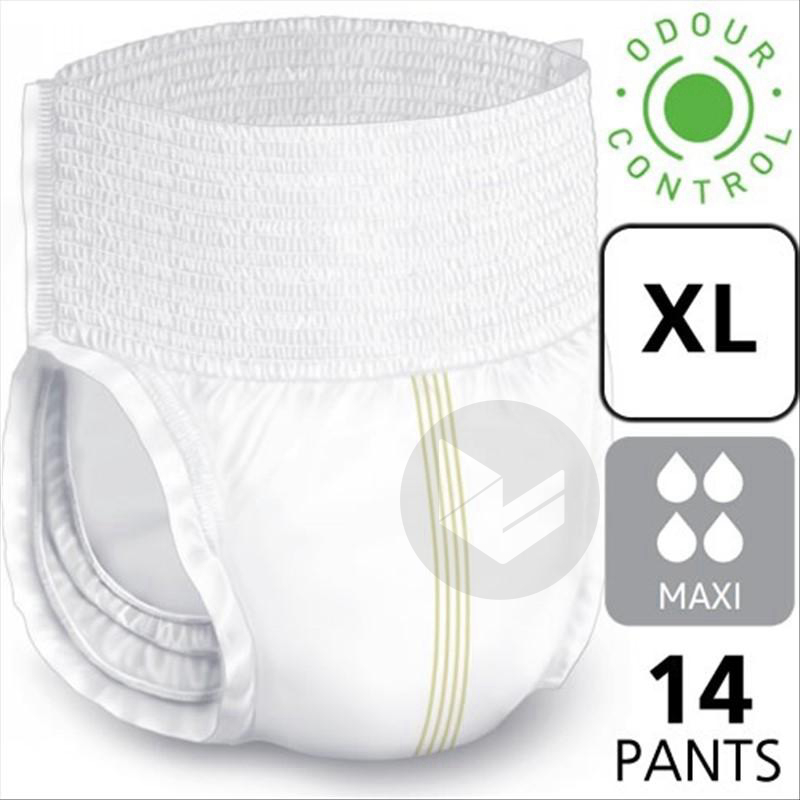 Lille Pants Slip Absorbant Maxi Taille Xl 14 Changes