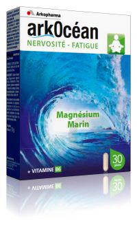 Arkocean Detente Et Equilibre Magnesium Marin Vitamine B 6 Gel B 30