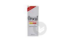 OROCAL VITAMINE D3 500 mg/200 UI Comprimé à sucer (Flacon 180 de 180)