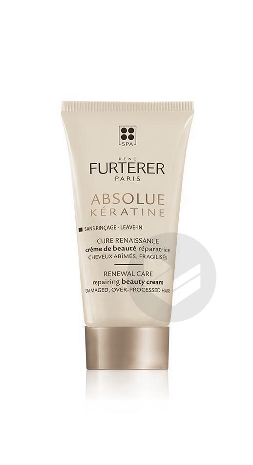 Rene Furterer Absolue Keratine Creme De Beaute Reparatrice 30 Ml