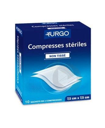 Compr Sterile Non Tissee 10 X 10 Cm 10 Sach 2