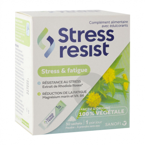 Stress Resist Stress Fatigue 30 Sachets