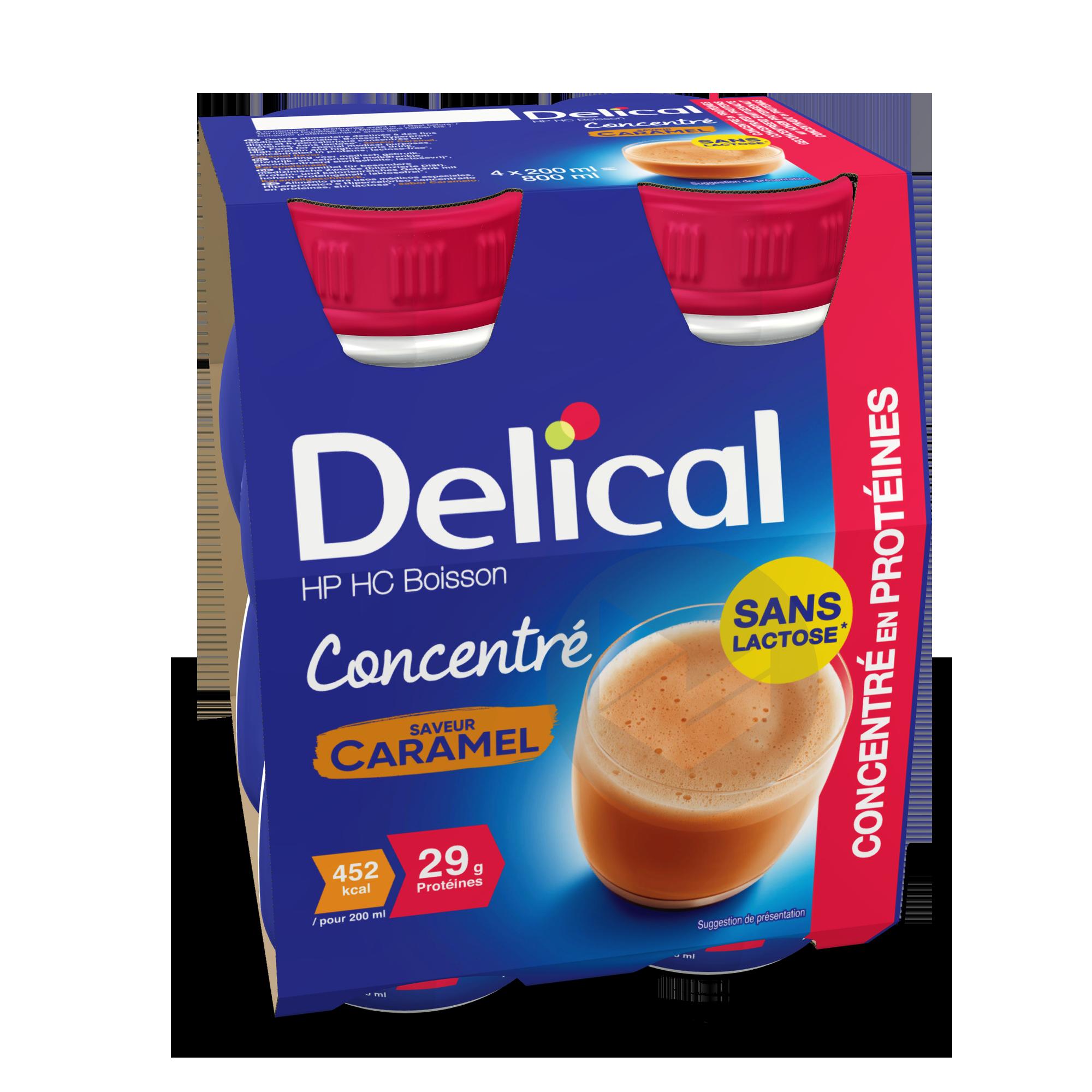 Delical Boisson Hp Hc Concentre En Proteines Sans Lactose Caramel