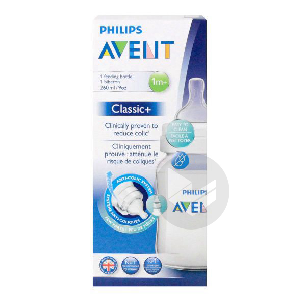 AVENT CLASSIC + Biberon 260ml