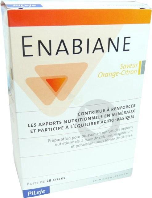ENABIANE Pdr sol buv citron orange 28Sticks/10g
