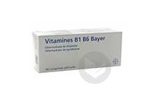 B 1 B 6 Bayer Comprime Pellicule Plaquette De 40