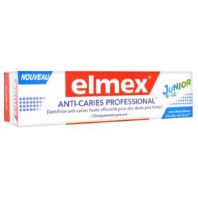 ELMEX ANTI-CARIES PROFESSIONAL Pâte dentifrice junior T/75ml