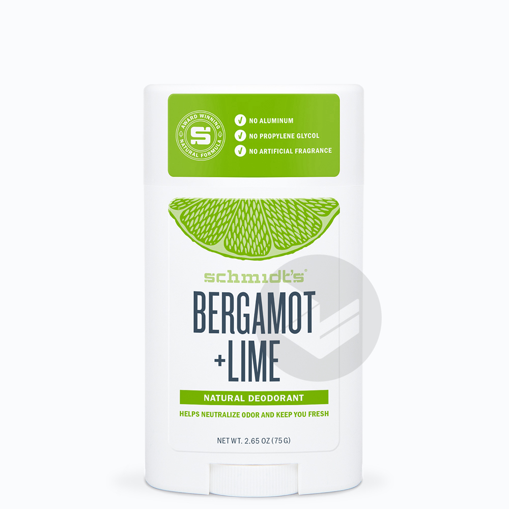 Deodorant Stick Bergamote Citron Vert 75 G