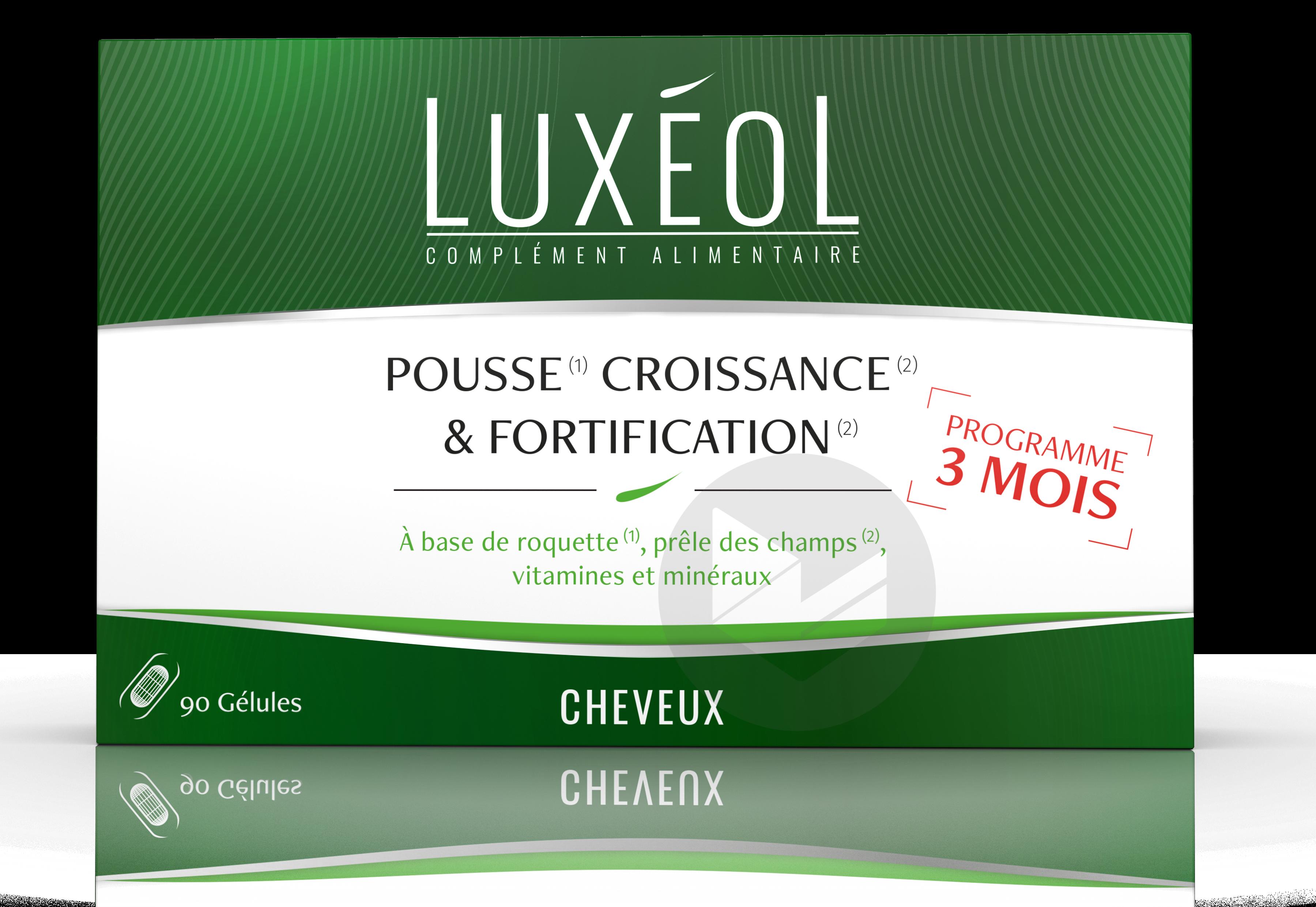 Luxeol Pousse Croissance Fortification 3 Mois