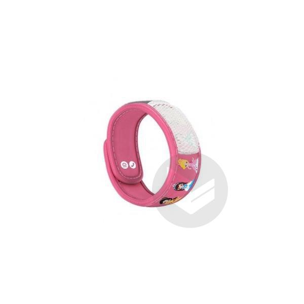 Parakito Kids Bracelet Repulsif Anti Moustique Princess