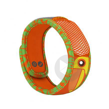 Parakito Kids Bracelet Enfant Anti Moustiques Toucan
