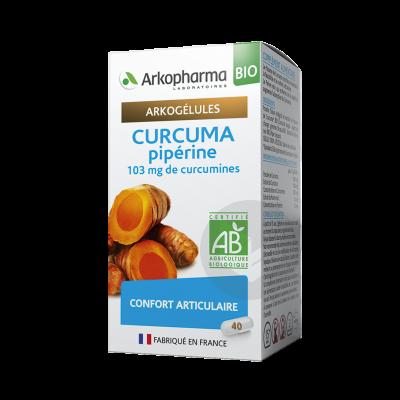 Arkogelules Bio Curcuma Piperine