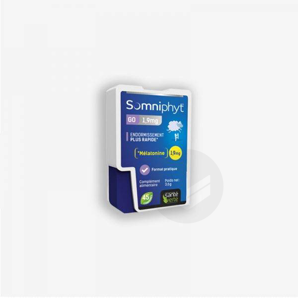 Somniphyt Go 1,9mg 45 comprimés